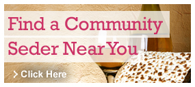 Find a Community Seder Near You